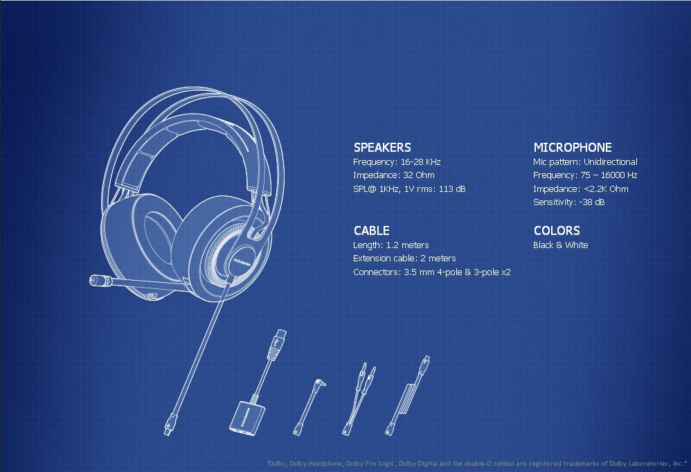 3headphone colors